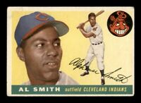 1955 Topps Set Break # 197 Al Smith VG *OBGcards*
