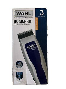 Wahl Homepro Corded Hair Clipper Cutting Mens Used Once