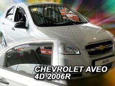 DCE10529 CHEVROLET AVEO 4 DOOR SALOON 2007-2015  WIND DEFLECTORS 4pc HEKO TINTED