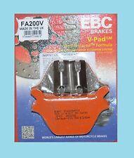 EBC FA200V Semi Sintered Rear Brake Pads  Harley Davidson Softail Series 1987-99
