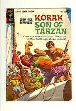 Korak, Son of Tarzan #2 3.5 (Crm/Ow) Vg- Edgar Rice Burroughs Gold Key 1964