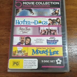 Lemony Snicket Hotel for Dogs Addams Family Imagine That Mouse Hunt DVD R4