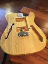 Fender '70s Natural Ash Tele Body Telecaster Thinline 3 Bolt 72 '70s Reissue