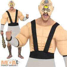 Mythical Greek Cyclops Mens Fancy Dress Halloween Adults Costume Outfit + Mask L