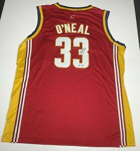 Shaquille O'Neal Signed Cleveland Cavaliers Jersey PSA 9A24468 Shaq Autographed
