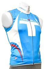 Castelli Windstopper Free Cycling Wind Vest Men SMALL Blue Road Bike MTB Gore