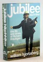 Signed William Hjortsberg Jubilee Hitchhiker Life & Times of Richard Brautigan