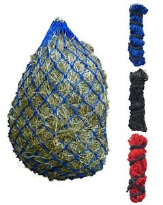 """5 Pack* Large 42"""" Ringed Haynets Haylage Hay Net Small Mesh Extra Strong Haynet"""