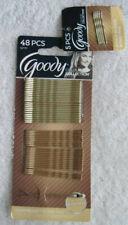 48 Blonde Goody Slideproof Bobby Pins Hair Bobbies Bonus Mini Light Dark Colour