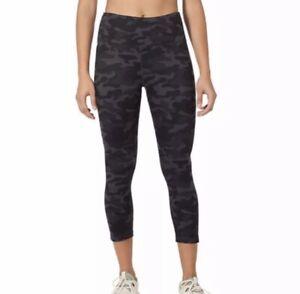 Danskin Women's Black Camo Active High Rise Legging Small NEW NWT