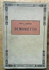 Nina Barengo Demonietto Illustrazioni Arturo Colombo Vallardi Libro per bambini