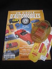 AC843 SOLIDO HACHETTE AC COBRA 427 1965 1/43 UN SCIECLE D'AUTOMOBILES