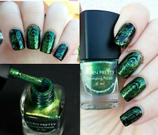 6ml Green Nail Stamp Polish Image Printing Stamping Varnish Decor Born Pretty