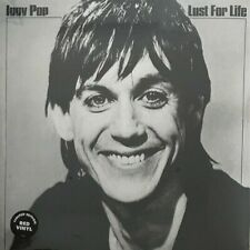 Iggy Pop Lust For Life HMV 180gm RED vinyl LP +download NEW/SEALED