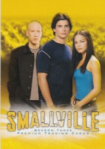 2004 SMALLVILLE SEASON 3 COMPLETE BASIC TRADING CARD SET