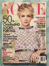 VOGUE US October 2010 Carey MULLIGAN Looks Mode Fashion