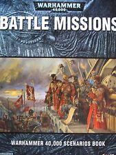 Battle Missions: Warhammer 40,000 Scenarios Book by Games Workshop (Paperback, 2