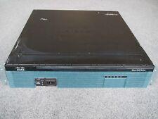 Cisco 2921/K9 V06 Router 15.5 iOS & ccpv3.5 1GB DRAM