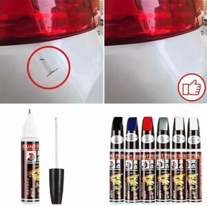 DIY Car Clear Scratch Remover Touch Up Pens Auto Paint Repair Pen + Brush 2 in 1