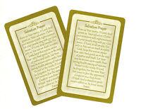 Salvation Prayer prayer card (Lot of 2 Laminated prayer cards