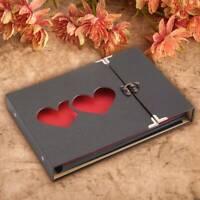 New Love Photo Album Wedding Photo Album Cover Hollow DIY Craft Gift UK