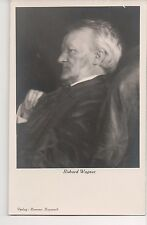 Vintage RPPC Richard Wagner German Composer Conducter