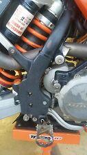KTM FRAME GUARDS 02-07 125 200 250 300 450 525 560 sx sxf xc xcf exc xcfw xcw