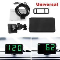 Universal Car Truck Head-up Display GPS Speedometer HUD MPH and KM/h Plug & Play