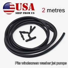 Washer Nozzle Spray Pump Arm Hose Windshield Wiper Tube Headlight Pipe Universal