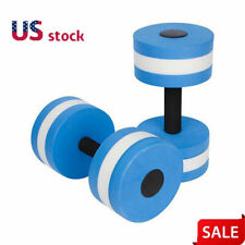 Water Aerobics Dumbbell EVA Aquatic Barbell Fitness Aqua Pool Swimming Exercise