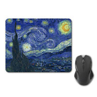 Vintage Van Gogh Starry Night Lovely Mouse Pad Mat Computer PC Mice