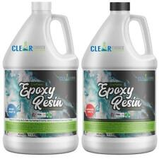 Crafters Clear Epoxy Resin for Small Castings, Art and Coatings  - 1 Gallon Kit