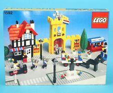 LEGO LEGOLAND TOWN No 1592 TOWN SQUARE ORIGINAL EMPTY BOX DUTCH 1980s LEGO HTF