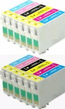 12 INKS FOR EPSON R200 R220 R300 R340 RX500 RX600 RX620
