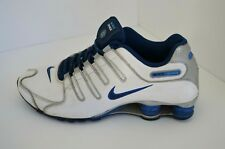 quality design 18208 9f908 2013 Nike Shox White Blue  Silver Running Shoes! Size 10.5