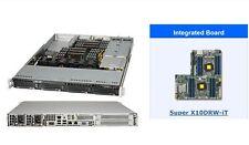 Supermicro SYS-6018R-WTRT 1U Server, 16 x 2.4Ghz, 128Gb RAM, 2 PSU, 10Gb, RAID