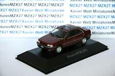 VOITURE PEUGEOT 405 SR 1993 1/43 SALVAT Inolvidables 80/90