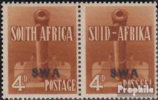 Namibië - Southwest 224a-225a horizontaal Echtpaar met Fold 1941 Rüstungsbilder