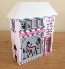 Good Friends Are Like Fine Wine Light Up House Gift New Boxed SAH006