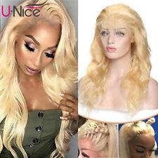 Brazilian 613 Blonde 13x6 Lace Front Wigs Body Wave Human Hair Wigs 150% Density