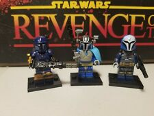 PAZ & PRE VIZSLA lord Mandalorians Bo Katan lot 3 minifigures custom Star Wars