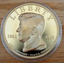 2016 High Relief President John F. Kennedy Commemorative Coin with COA