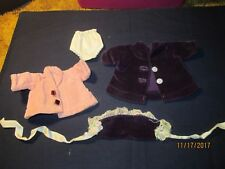 Doll Clothes For a doll from 1950