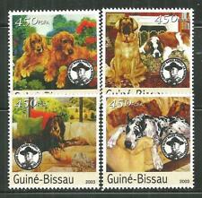 GUINEA BISSAU MNH SET DOGS