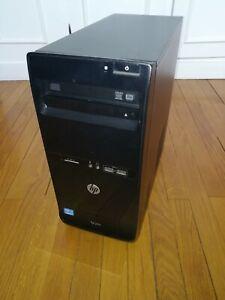PC HP Pro 3500 MT, Windows 10 Pro, HDD 1000 Go, RAM 8 Go (4Y)