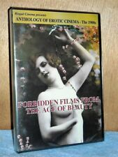 Forbidden Films From The Age Of Beauty-Anthology 1900s (DVD, 2015) NEW retro