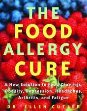 The Food Allergy Cure : A New Solution to Food Cravings  FREE SHIPPING!!
