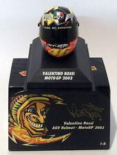 Minichamps 1/8 Scale 397 030046 - AGV Helmet Moto GP 2003 V. Rossi