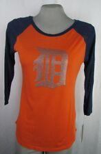 Detroit Tigers MLB G-III Women's Orange Blue 3/4 Sleeve Tshirt