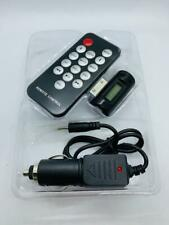 FM Radio Transmitter With Car For iPhone 4 3G 3GS iPod Touch UK STOCK